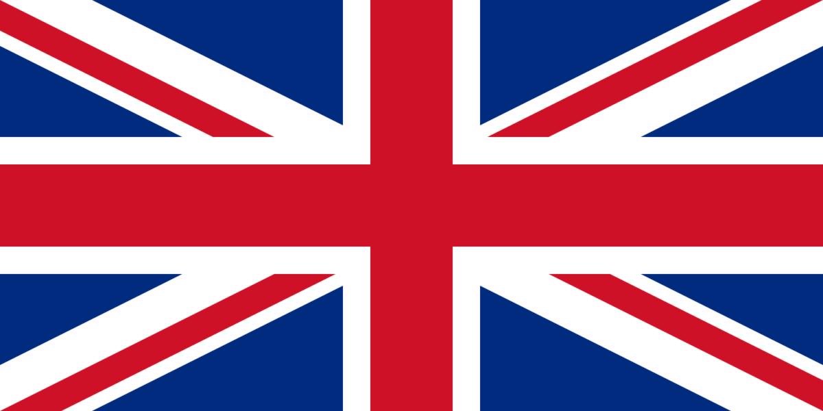 drapeau de l'Angleterre