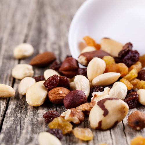 ensemble de noix bio