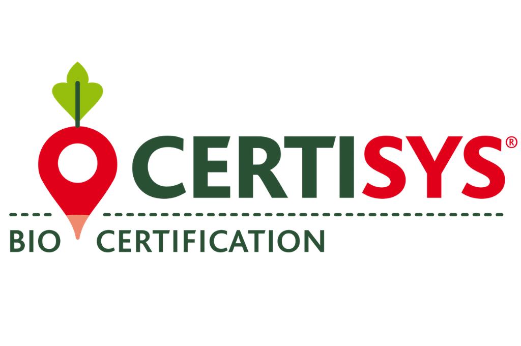 logo CERTISYS Bio certification