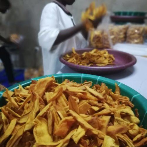 Chips de mangue bio