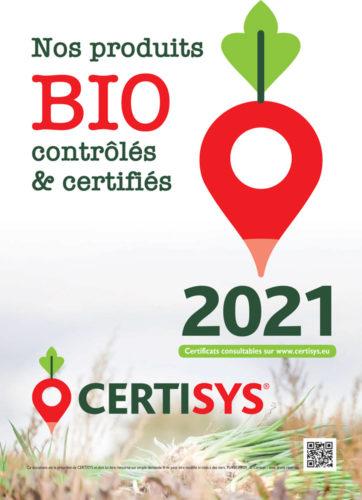 Nos produits Bio contrôlés et certifiés