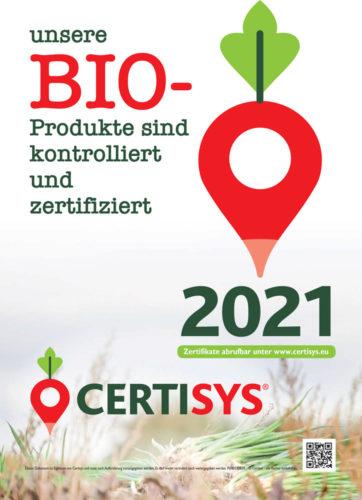 Unsere Bio-produkte sind kontroliert und zertifiziert