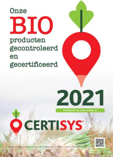 Onze Bio producten gecontroleerd en gecertificeerd